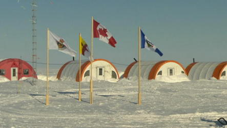 Canada and Russia jostle to claim territory and valuable resources near the North Pole