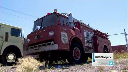 Five vintage fire trucks are up for sale in Calgary. Carla Beynon reports.