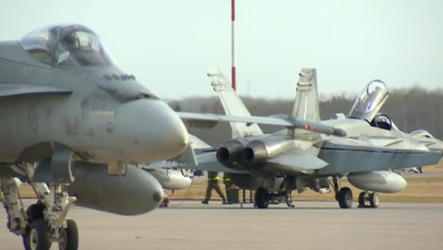 6 planes leave CFB Cold Lake to assist in military ops against ISIS