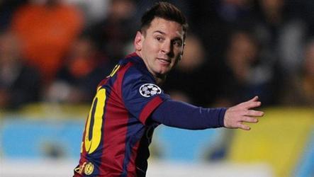 Barcelona striker scores 72nd, 73rd, 74th against APOEL.