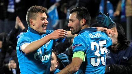 Zenit wins 1-0 in Group C Champions League match.