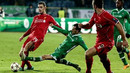 Teams tie 2-2 in Group B Champions League match.