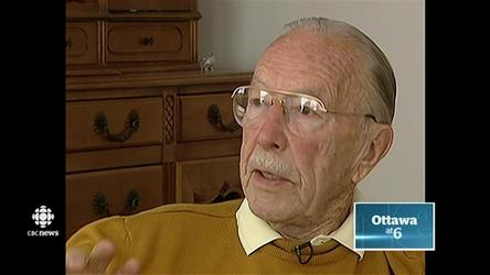 WWII veteran Ernest Cote, 101, was robbed in his west-end apartment on Thursday morning.