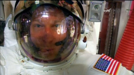 Water leak reminiscent of one that caused astronaut near-drowning in 2013