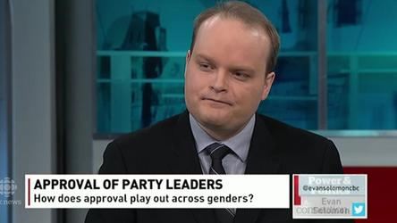 Poll analyst Eric Grenier looks at the approval rating of party leaders and how those numbers break down