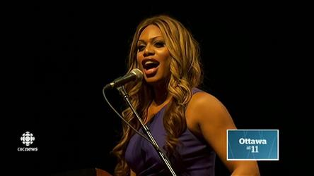 Orange Is The New Black star Laverne Cox spoke to a sold-out crowd of university students in Ottawa on Wednesday night.