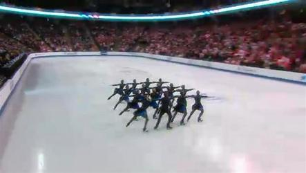 Nexxice from Burlington, Ont., won the gold medal for Canada on Saturday at the 20-country ISU World Synchronized Skating Championships.