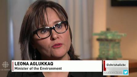CBC's Susan Lunn discusses her interview with Environment Leona Aglukkaq
