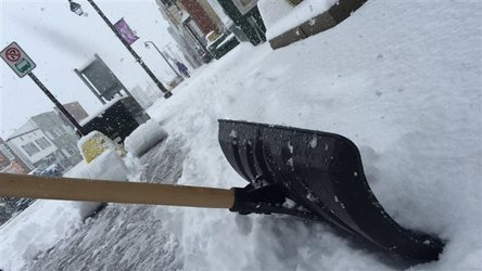 Spring has sprung but the Northern Ontario town of Hearst got 7 centimetres of snow today