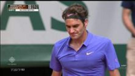 World number 2 Roger Federer defeats Marcel Granollers 6-2, 7-6, 6-3 to move on the the 3rd round at the French Open.