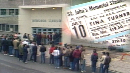 When rock star Tina Turner announced she would launch her 1985 comeback tour in St. John's, fans were eager to get tickets. Susan Newhook reported for Here & Now.