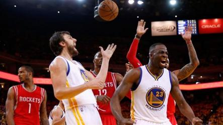 Golden State beats Houston 104-90.